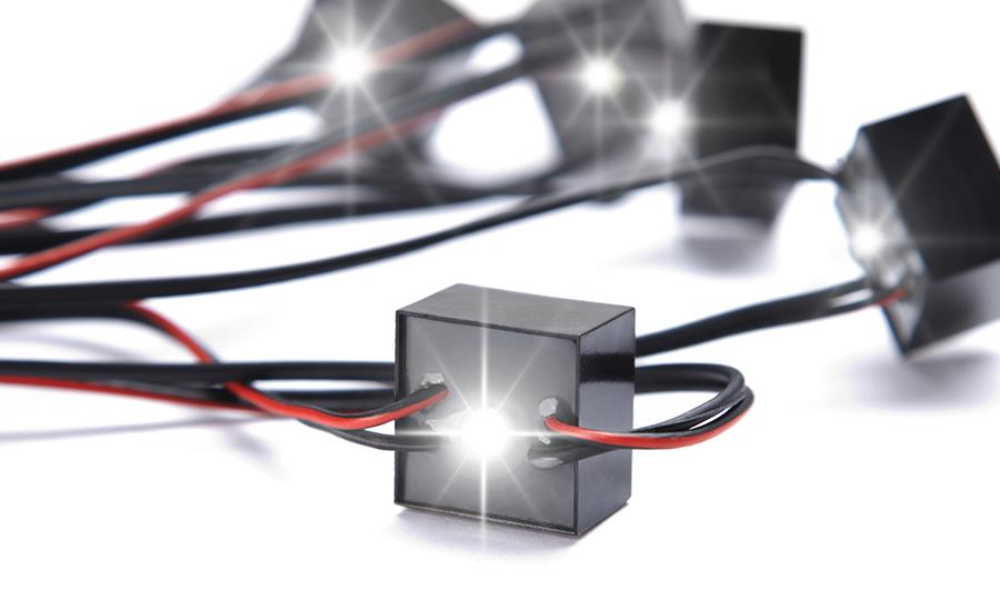 LED-Block des MarderBLITZ